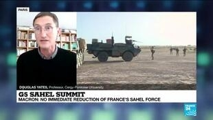 2021-02-16 14:31 G5 Sahel Summit: no immediate reduction of France's Sahel force