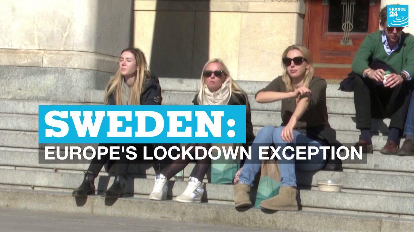 Sweden is one of the few European countries not in full lockdown amid the coronavirus pandemic.