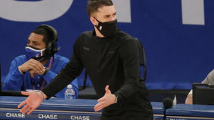 The Minnesota Timberwolves fired head coach Ryan Saunders, above, and have replaced him with Toronto Raptors assistant Chris Finch