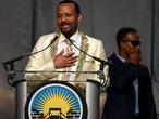 """Le Nobel de la paix à l'Éthiopien Abyi Ahmed: un """"encouragement"""" prématuré?"""