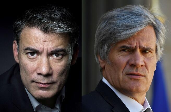 Olivier Faure (à g.) et Stéphane Le Foll étaient en lice pour prendre la tête du Parti socialiste.