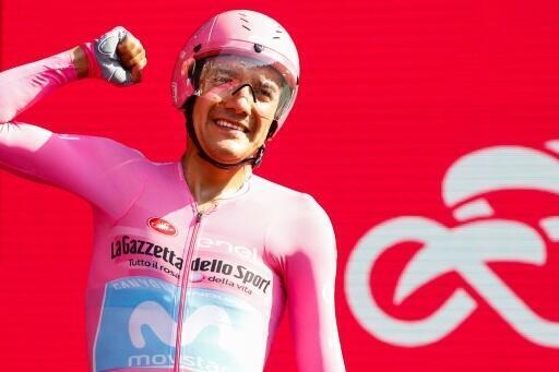 El ecuatoriano Richard Carapaz selló su primer triunfo en una gran vuelta al ganar el Giro de Italia 2019.