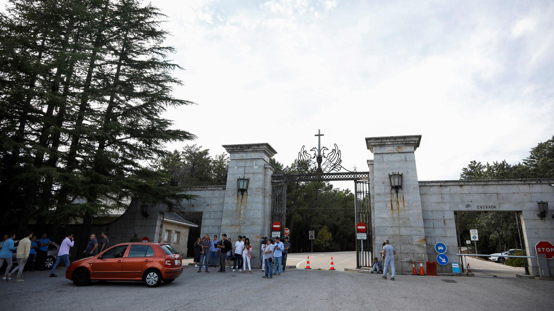 El Valle de los Caídos, en El Escorial, permanece cerrado desde el 11 de octubre. 11 de octubre de 2019, San Lorenzo del Escorial, Madrid.