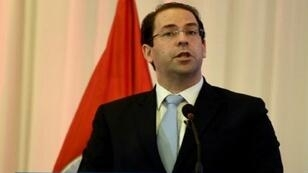 رئيس الحكومة التونسي يوسف الشاهد في 8 كانون الأول/ديسمبر 2016