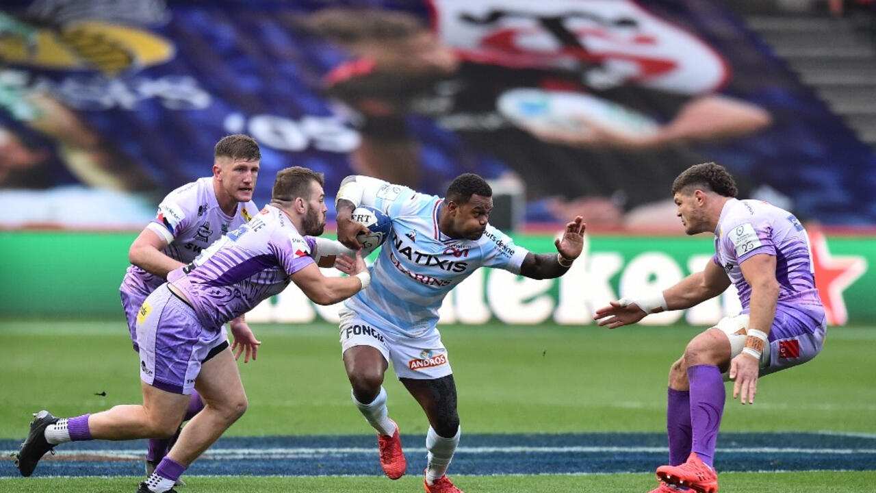 Exeter hold off Racing 92 to win European Champions Cup final