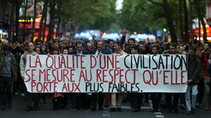 Marche blanche du 20mai2019 à Paris, pour empêcher l'arrêt des soins de Vincent Lambert.