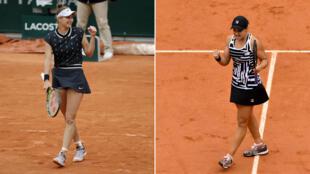 Marketa Vondrousova et Ashleigh Barty sont qualifiées pour la finale de Roland-Garros.
