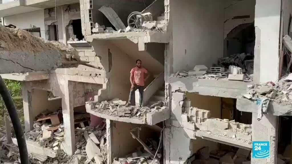 2021-05-23 01:01 Gaza: sobrevivientes de los bombardeos buscan la manera de salir adelante