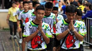 Durante 18 días, los 12 niños y su entrenador estuvieron atrapados en el complejo de cuevas Tham Luag.