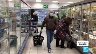 2020-03-26 10:09 Coronavirus en France : Quelles sont les bonnes manières de faire ses courses ?