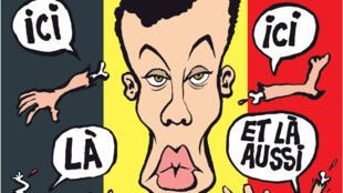 La une du Charlie Hebdo du 30 Mars 2016, n° 1236
