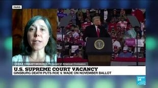2020-09-21 14:47 RBG's Supreme Court Seat: Could Trump Succeed In Rushing Through a Nomination?
