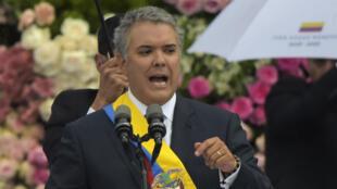 Mardi 7 août, Ivan Duque a été investi président de la République colombienne.