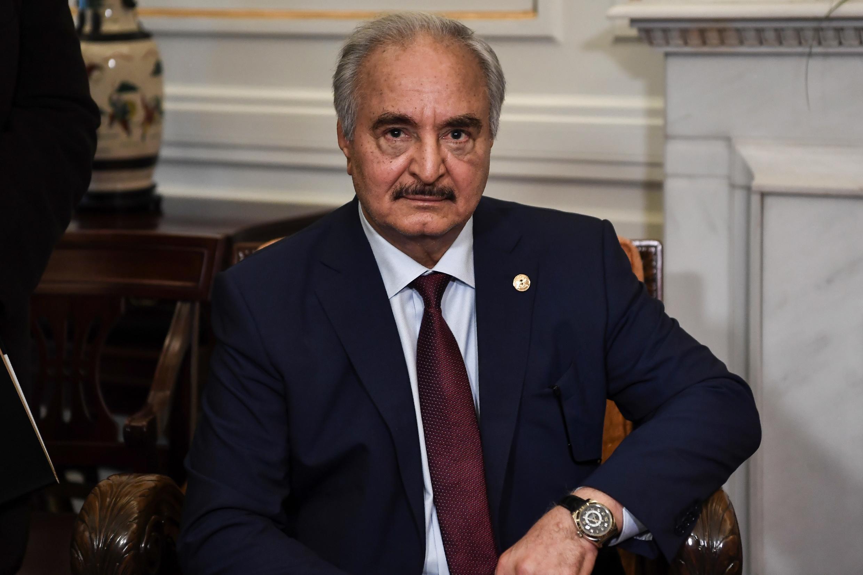 المشير الليبي خليفة حفتر.