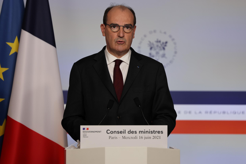 Le Premier ministre Jean Castex à Paris, le 16 juin 2021.