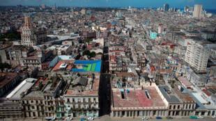 Una vista general de La Habana poco antes de su aniversario 500, en Cuba, el 29 de octubre de 2019.