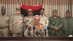 اللواء خليفة بلقاسم حفتر القائد العام للجيش الليبي