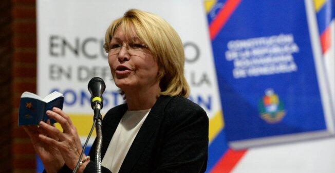 La ex fiscal general de Venezuela, Luisa Ortega, salió de ese país en agosto en una lancha hacia la isla de Aruba.