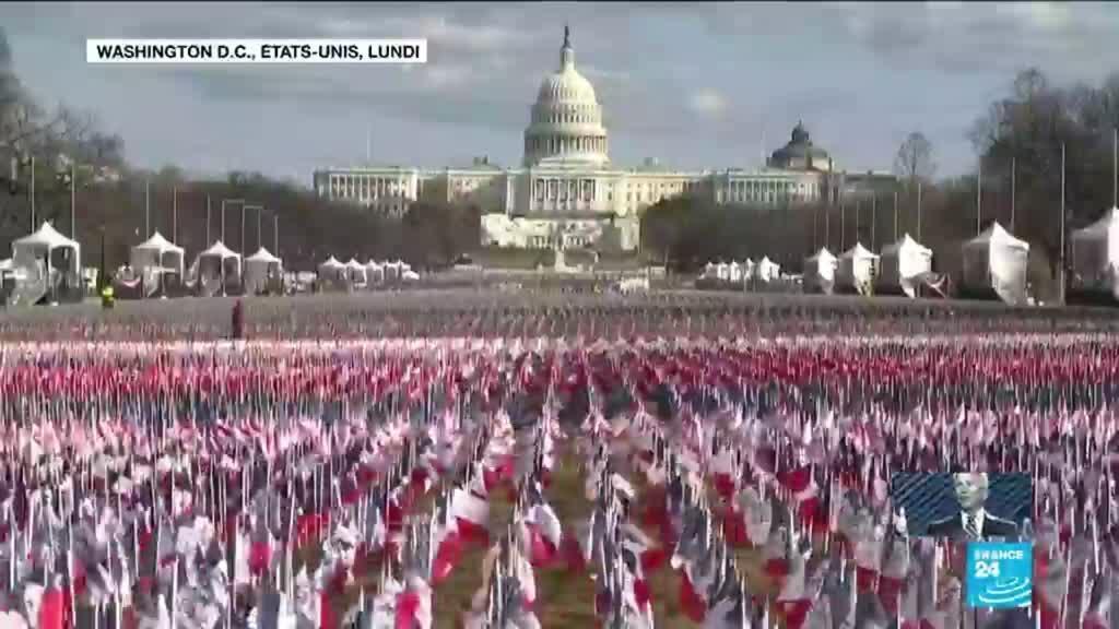 2021-01-20 10:31 Investiture de Joe Biden : protocole strict et programme chargé pour une journée historique