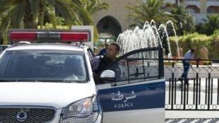 سيارة للشرطة التونسية
