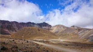 Paisajes del Nevado de Toluca.