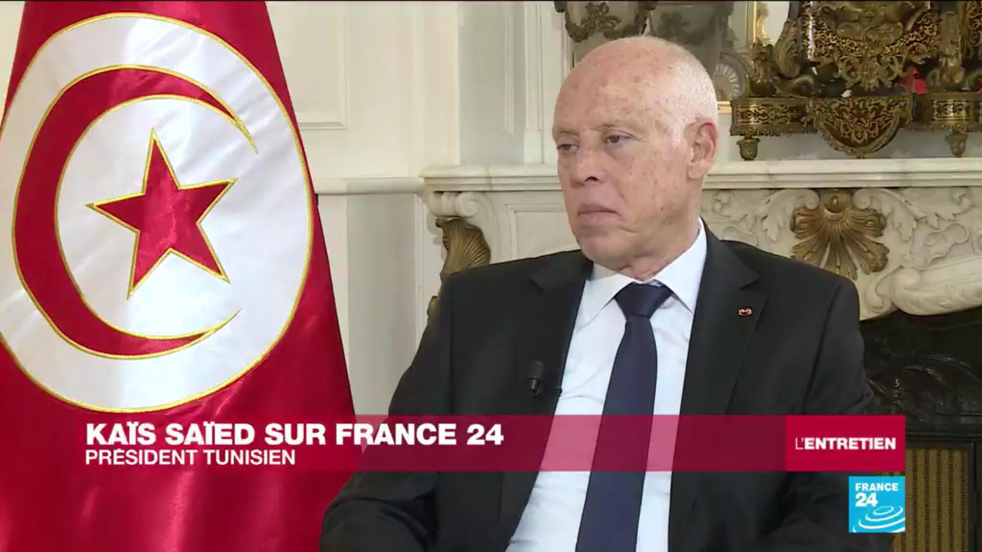 Le président tunisien Kaïs Saïed