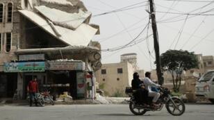 La province d'Idleb, dans le nord-ouest de la Syrie, est le dernier bastion tenu par les rebelles syriens.
