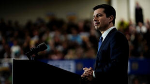 Democratic 2020 U.S. presidential candidate former South Bend, Indiana Mayor Pete Buttigieg attends a campaign event in Raleigh, North Carolina, U.S., February 29, 2020.
