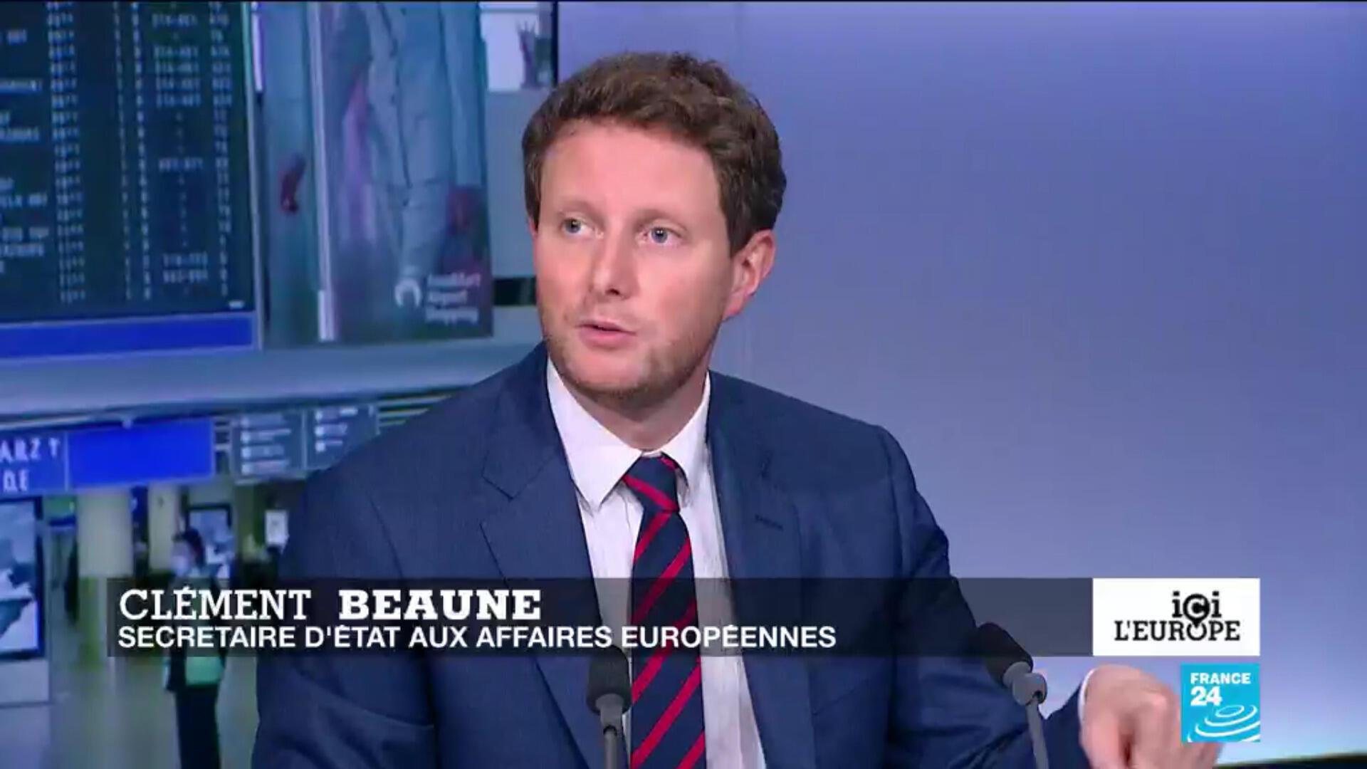 Clément Beaune, secrétaire d'État chargé des Affaires européennes
