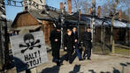 Germany's Merkel visits Auschwitz for first time as chancellor
