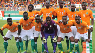 L'équipe de Côte d'Ivoire