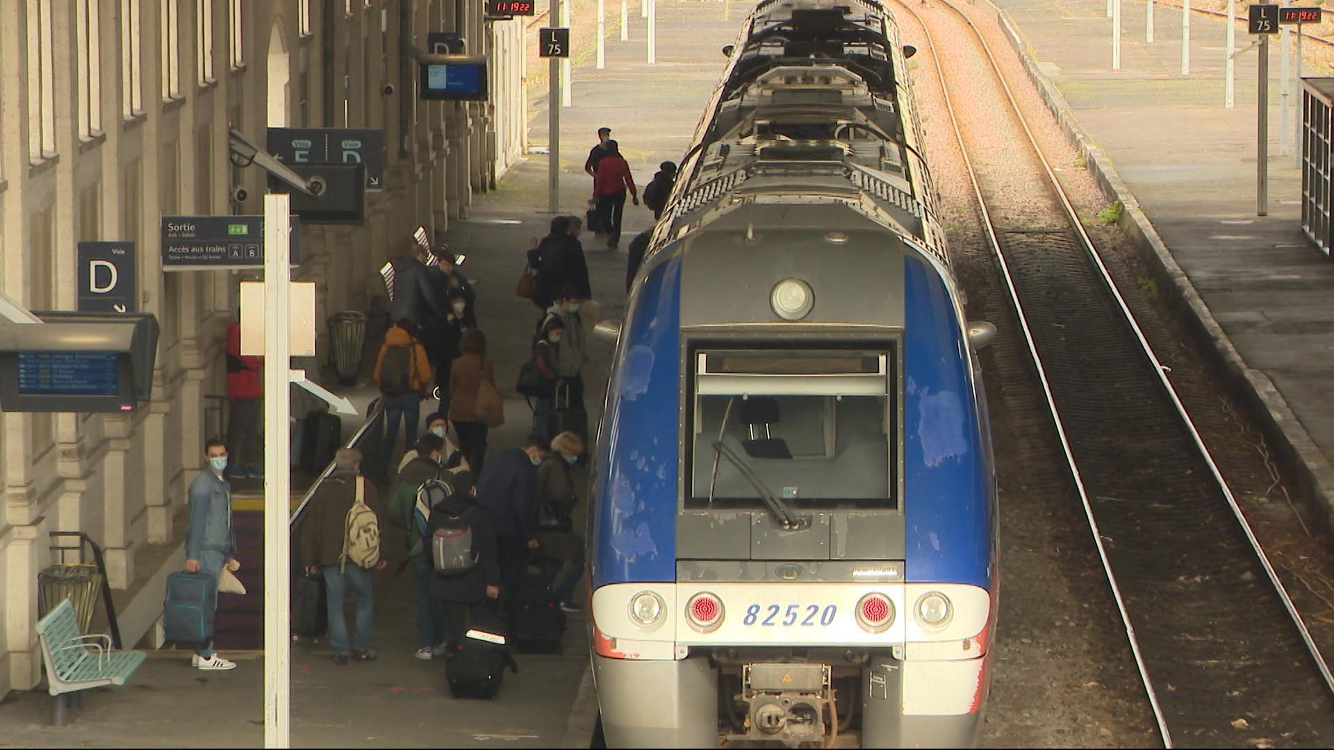 French train station