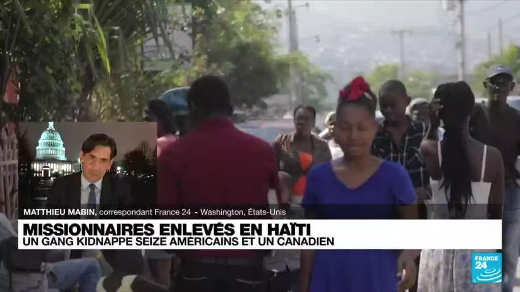 2021-10-18 08:32 Des missionnaires américains et un canadien enlevés à Haïti