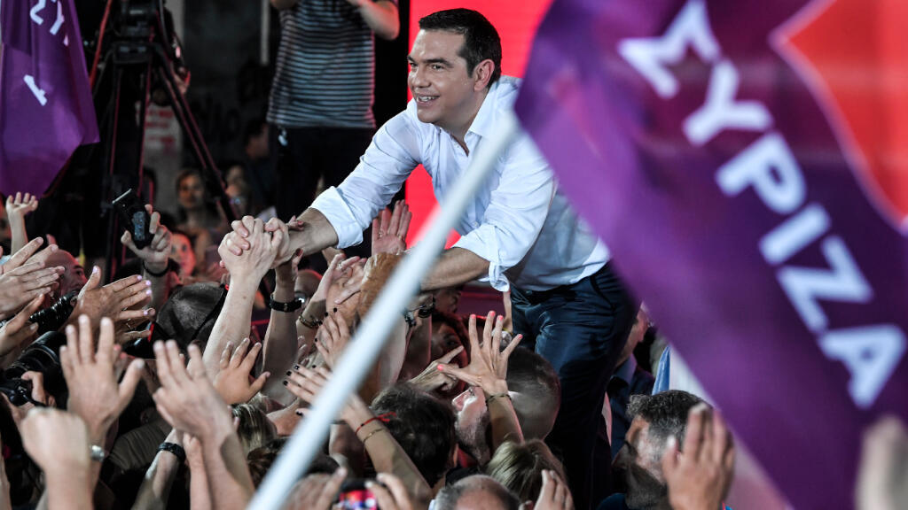 El primer ministro griego y líder del partido izquierdista Syriza, Alexis Tsipras.