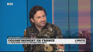L'INVITÉ DU JOUR - Nicolas Maury