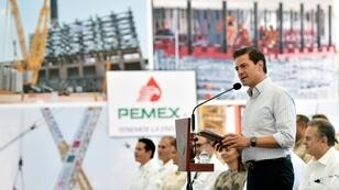 El presidente mexicano Enrique Peña Nieto el 3 de noviembre de 2017.