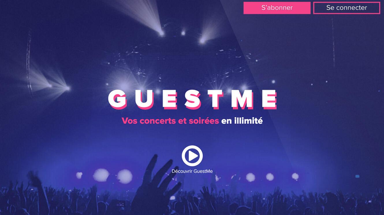 GuestMe, un abonnement pour concerts et soirées en illimité.