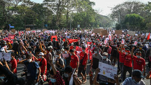 MYANMAR SUNDAY ANOTHER DAY PROTEST