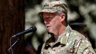 Le général Scott Miller à Kaboul, en Afghanistan, le 2 septembre 2018.
