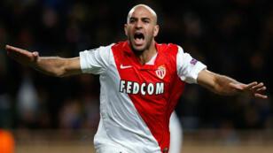 Le défenseur de l'AS Monaco Aymen Abdennour après son but.