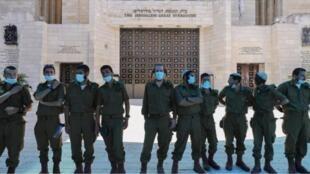 الكنيس اليهودي الكبير المغلق منذ بدء انتشار فيروس كورونا. القدس في 15 أيلول/سبتمبر 2020.