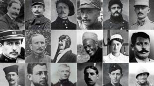 Des photographies de soldats Morts pour la France durant la Grande Guerre