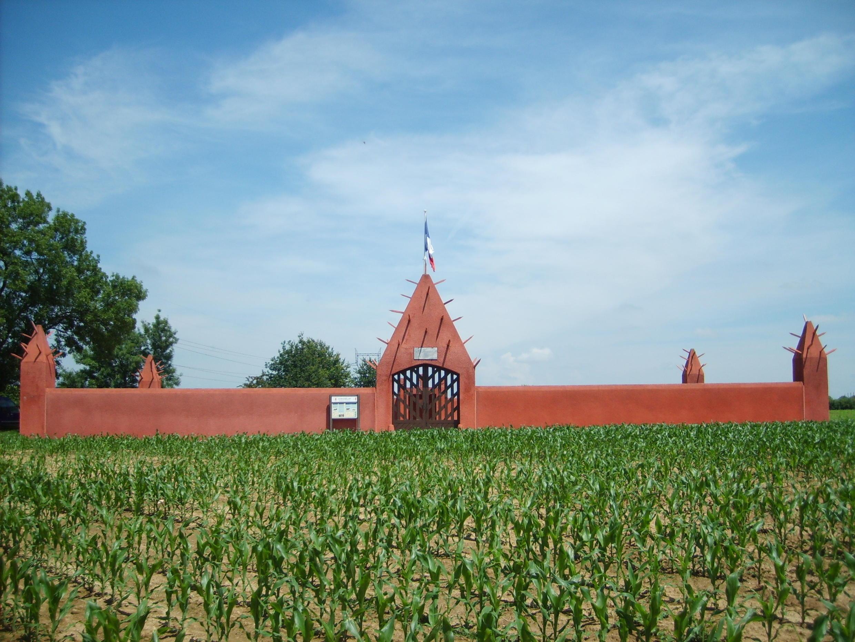 Le Tata sénégalais de Chasselay, nécropole militaire situé à Chasselay dans le Rhône, France.