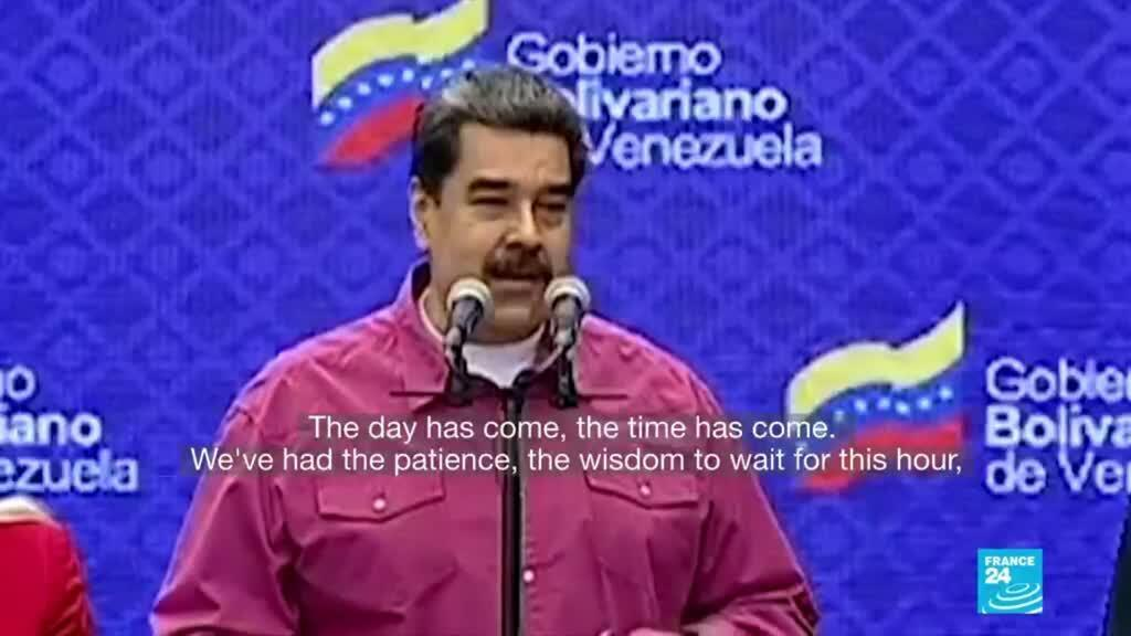 2020-12-07 08:08 Pro-Maduro candidates win control of Venezuelan congress after disputed vote