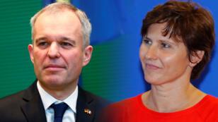 Composición de François de Rugy y Roxana Maracineanu, los nuevos integrantes en el gabinete de Macron