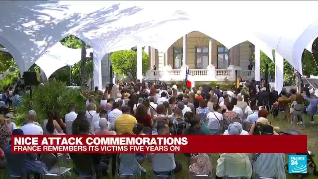2021-07-14 16:00 Nice attack commemorations: France remembers its victims five years on
