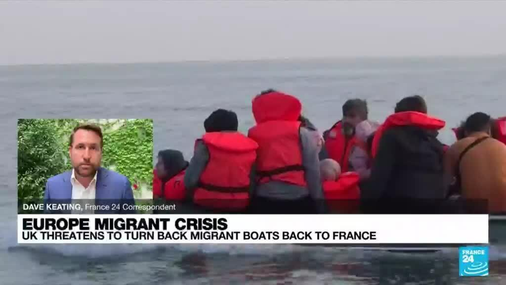 2021-09-09 18:17 France warns Britain against 'blackmail' over migrants