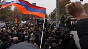 ARMENIA PROTESTAS