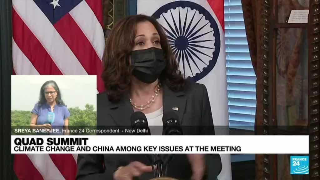 2021-09-24 09:36 Quad summit: Tension grow as US, allies deepen Indo-Pacific involvement