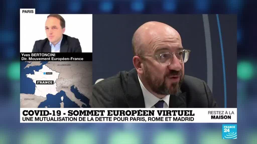 2020-04-23 16:00 Covid-19 en Europe : Réunion cruciale des 27 pour relancer l'économie